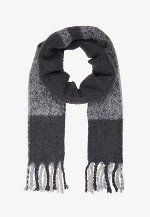 Sjal - dark grey melange