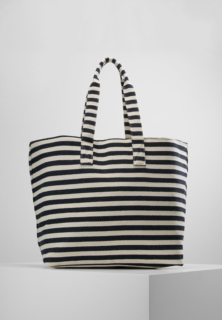 Pieces - PCBARBARO SHOPPER - Bolso shopping - maritime blue
