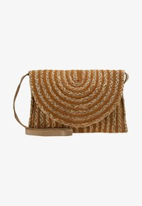 Pieces - PRISCILLA CROSS BODY - Borsa a tracolla - cognac - 5