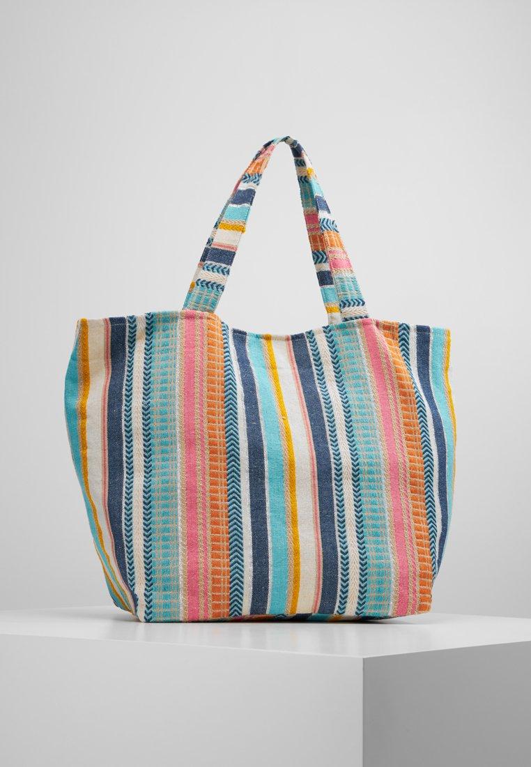 Pieces - PCCARRIE  - Shoppingväska - dusty blue