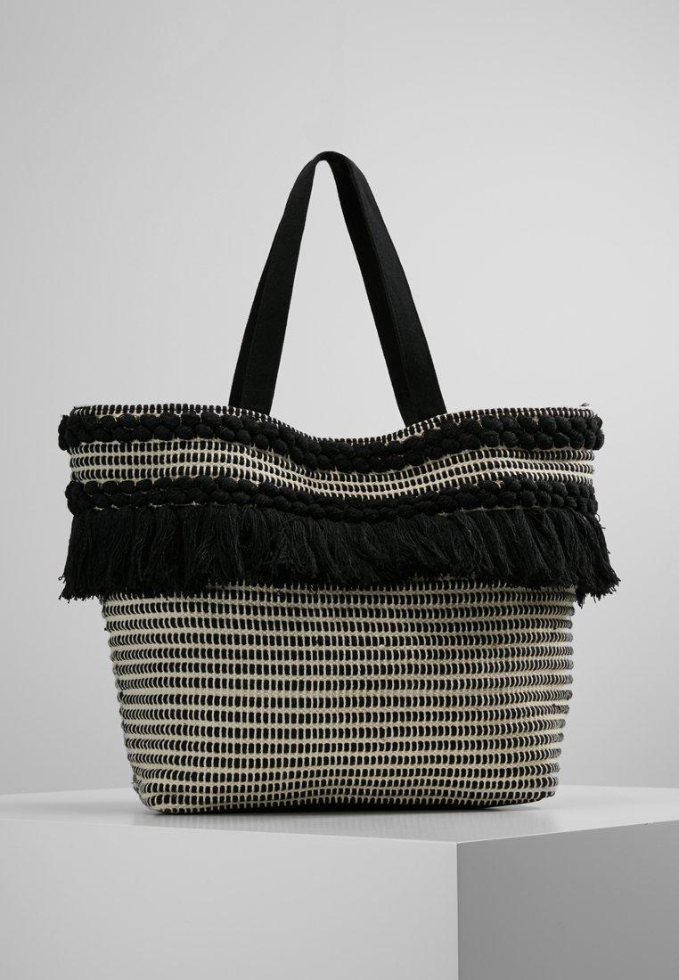 Pieces - PCBITTE SHOPPER - Shopping bag - black