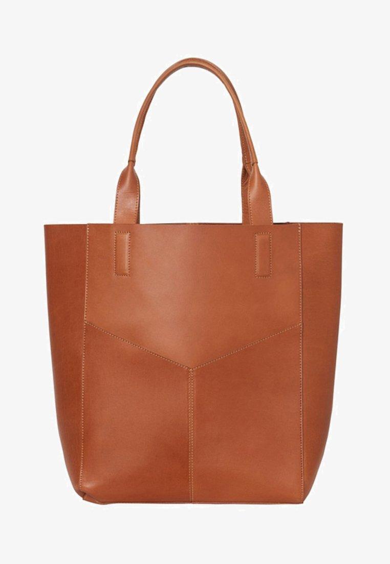 Pieces - Shopping bags - cognac
