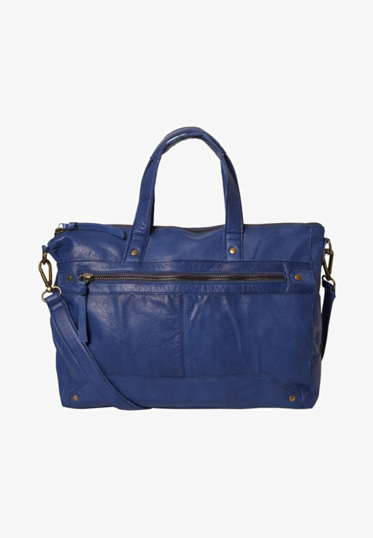 Pieces - TASCHE LEDER - Håndtasker - maritime blue