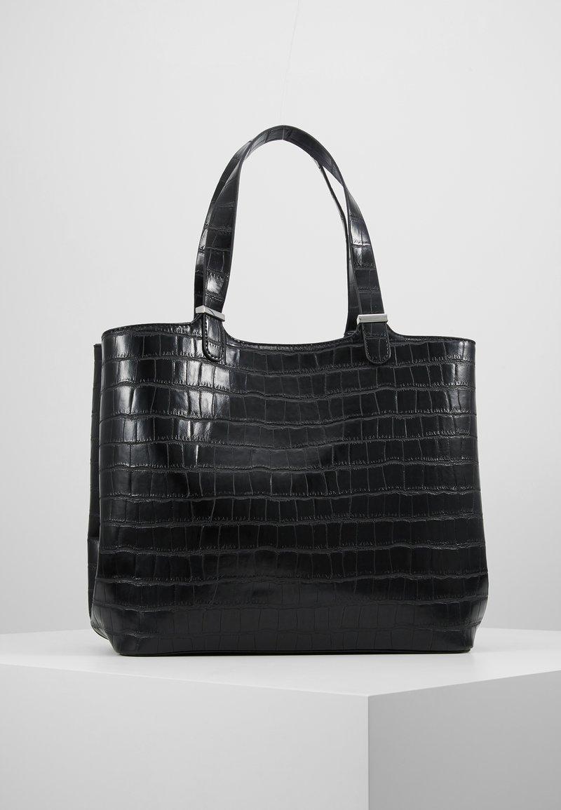 Pieces - PCJESSE SHOPPER - Tote bag - black