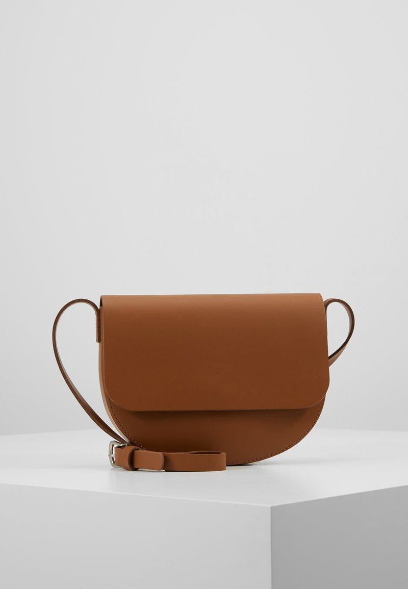 Pieces - PCIBE CROSS BODY - Umhängetasche - toasted coconut