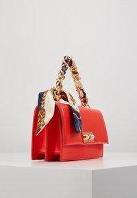 Pieces - PCSCARLET CROSS BODY - Handbag - high risk red - 3