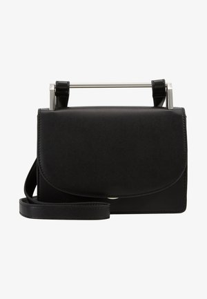 PCKATLYN CROSS BODY - Across body bag - black/silver