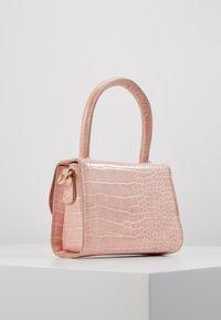 Pieces - PCBELLA CROSS BODY - Handbag - sea pink/gold-coloured - 3