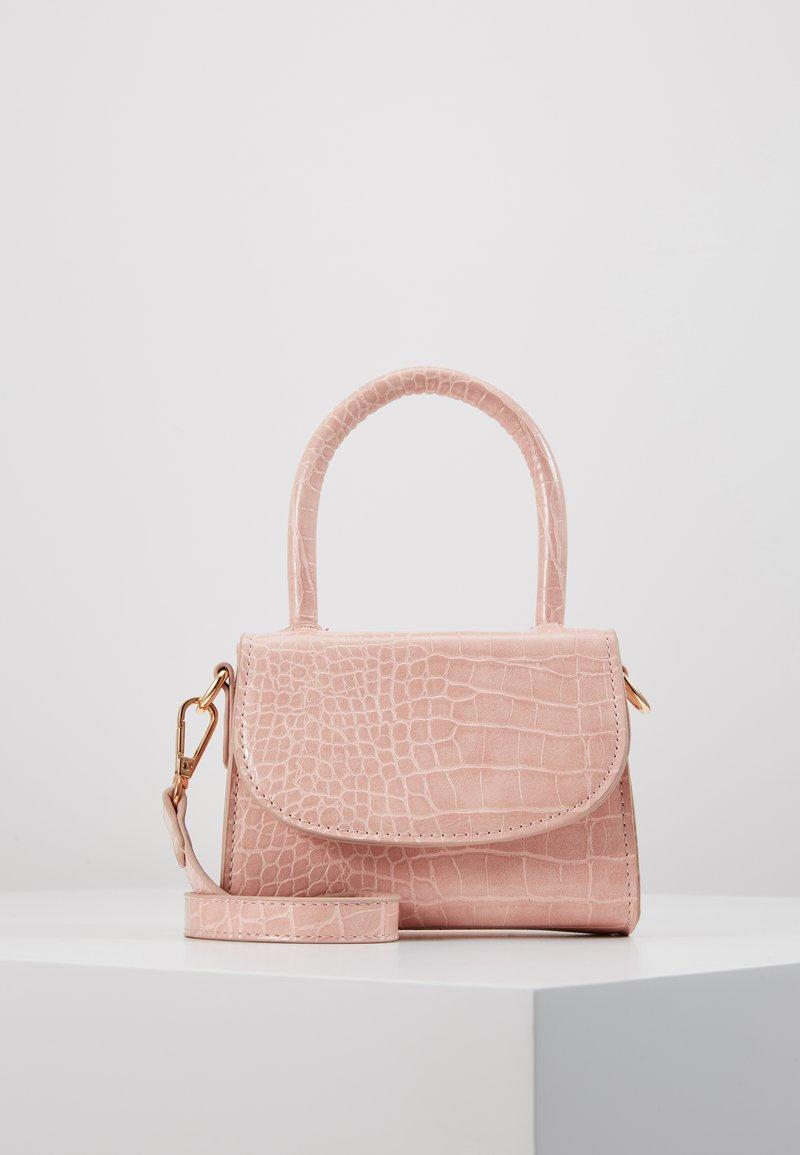 Pieces - PCBELLA CROSS BODY - Handbag - sea pink/gold-coloured