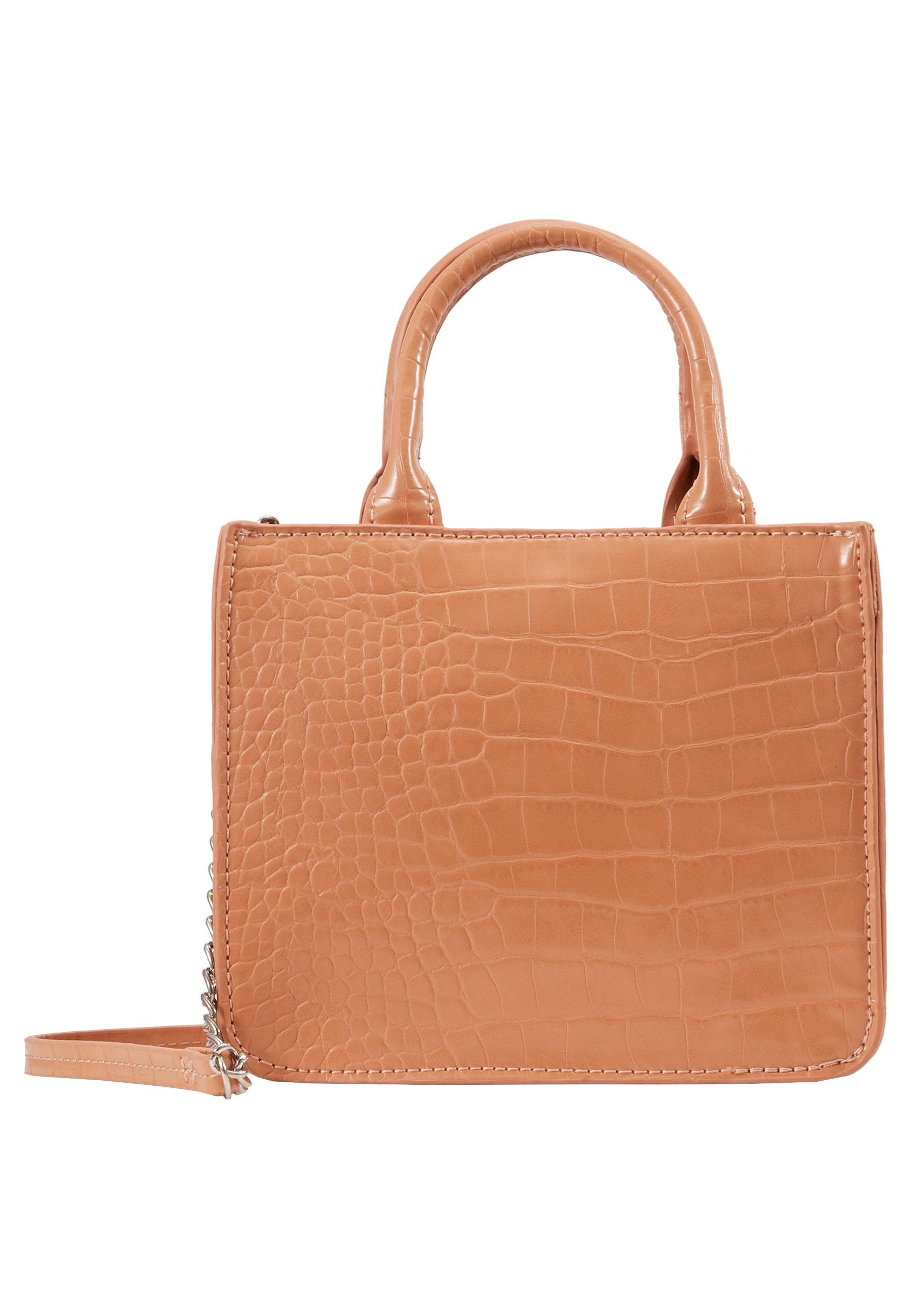 Pieces Pcpoppy Mini Shoppe - Borsa A Tracolla Orange Ochre/silver jyjsXnP