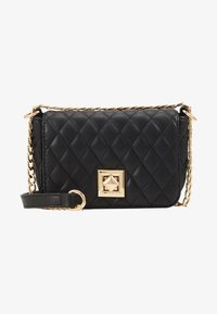 Pieces - PCNIKI CROSS BODY - Skulderveske - black/gold - 1