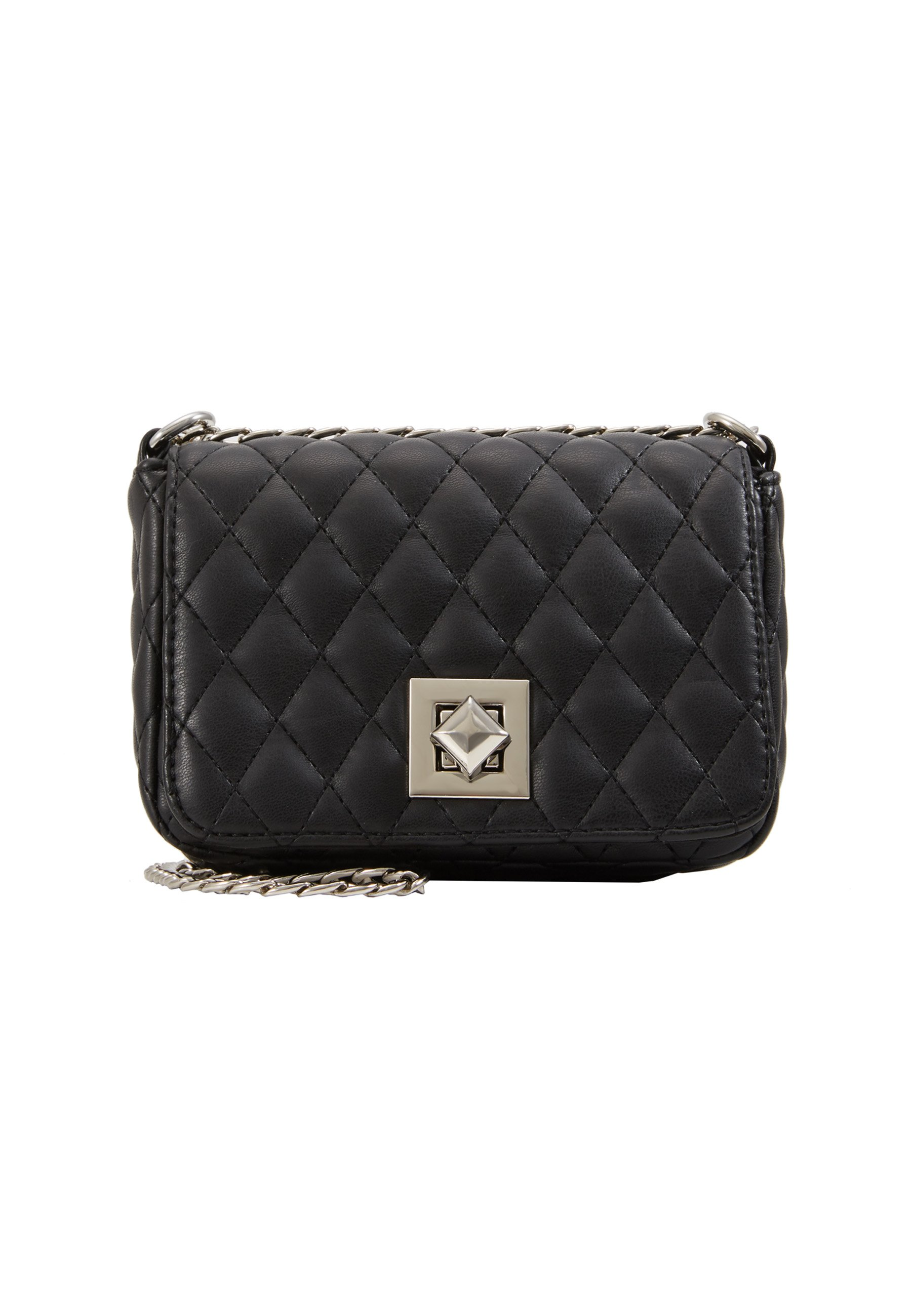 Pieces PCLUX CROSS BODY Skulderveske blackgold Zalando.no
