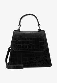 Pieces - PCANELLA MINI CROSS BODY  - Skulderveske - black - 1
