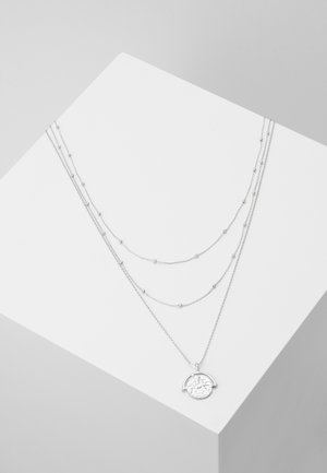 PCMISSY COMBI NECKLACE 3 PACK - Halskæder - silver-coloured