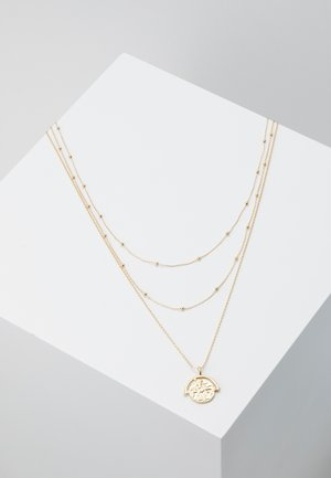 PCMISSY COMBI NECKLACE 3 PACK - Náhrdelník - gold-coloured