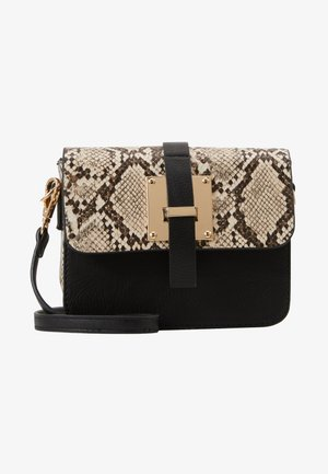 PCLUX CROSS BODY  - Umhängetasche - black/gold