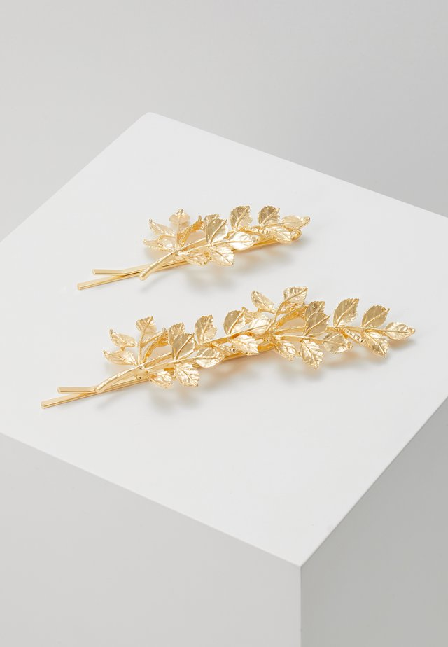 PCOLIVE HAIR PIN 2 PACK - Hair Styling Accessory - gold-coloured