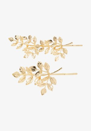 PCOLIVE HAIR PIN 2 PACK - Haaraccessoire - gold-coloured