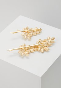 Pieces - PCOLIVE HAIR PIN 2 PACK - Hair styling accessory - gold-coloured - 3