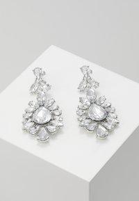 Pieces - PCGLITZ EARRINGS - Pendientes - silver-coloured - 0