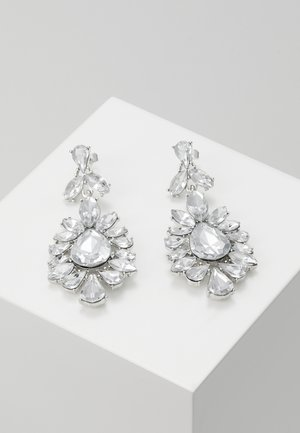 PCGLITZ EARRINGS - Orecchini - silver-coloured