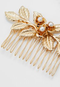 Pieces - PCCOMB HAIR PIN 2 PACK - Håraccessoar - gold-coloured/clear-mop - 3