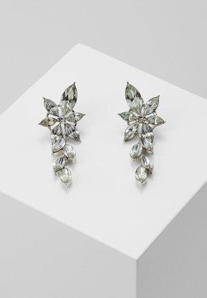 PCYALO EARRINGS - Kolczyki - silver-coloured/clear