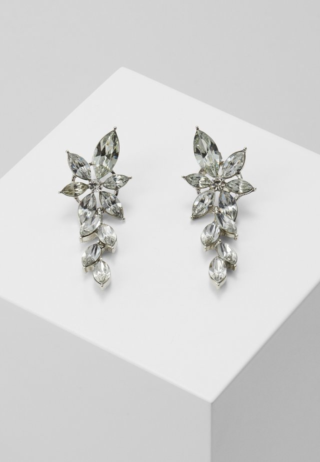 PCYALO EARRINGS - Oorbellen - silver-coloured/clear