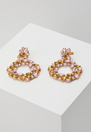 PCRING EARRINGS - Ohrringe - blush/champagne