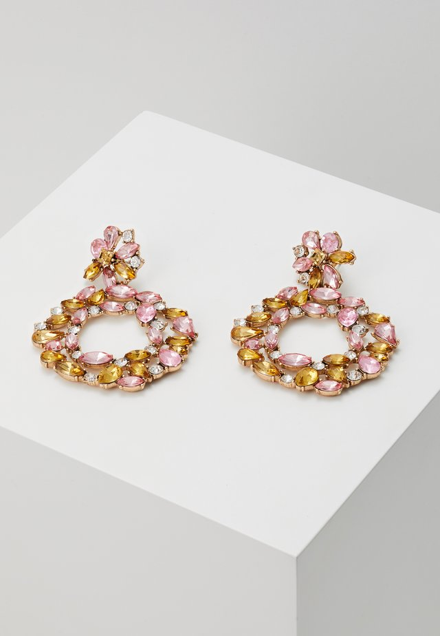 PCRING EARRINGS - Oorbellen - blush/champagne