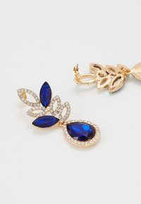 Pieces - PCBLUE EARRINGS - Earrings - gold coloured/blue/clear - 2