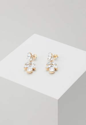 PCDAN EARRINGS - Earrings - gold coloured/clear