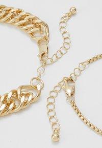Pieces - PCCHAIN BRACELET 3 PACK - Bracciale - gold-coloured - 3
