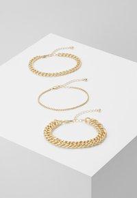 Pieces - PCCHAIN BRACELET 3 PACK - Bracciale - gold-coloured - 0