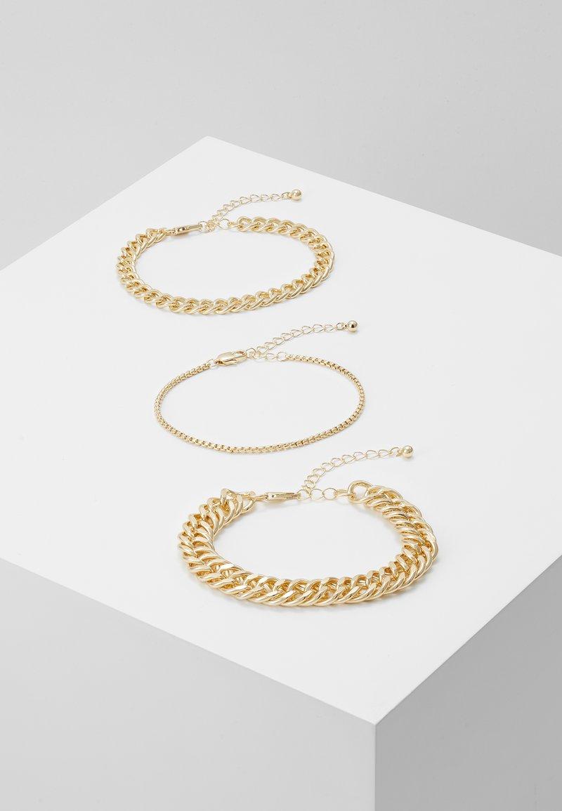 Pieces - PCCHAIN BRACELET 3 PACK - Bracciale - gold-coloured