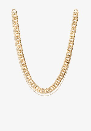 PCCHAIN COMBI NECKLACE  - Smykke - gold-coloured