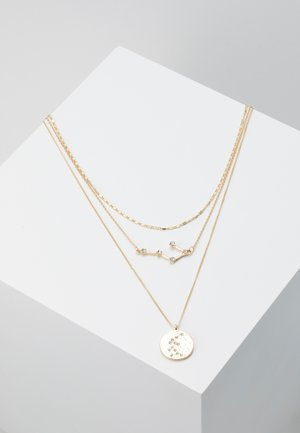 PCSTAR COMBI NECKLACE - Naszyjnik - gold-coloured