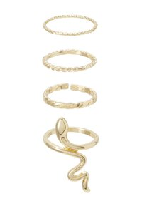 Pieces - PCHISS 4 PACK - Ring - gold-coloured - 4