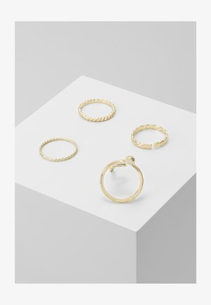 PCHISS 4 PACK - Ring - gold-coloured