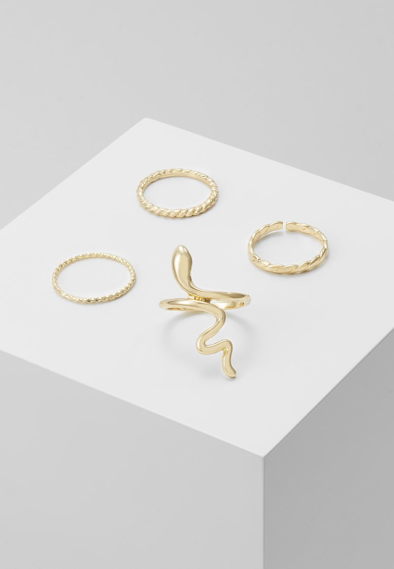 Pieces - PCHISS 4 PACK - Ring - gold-coloured