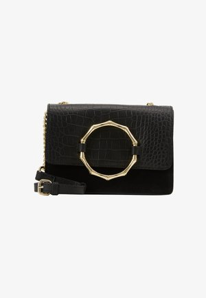 PCALVIRA CROSS BODY - Sac bandoulière - black