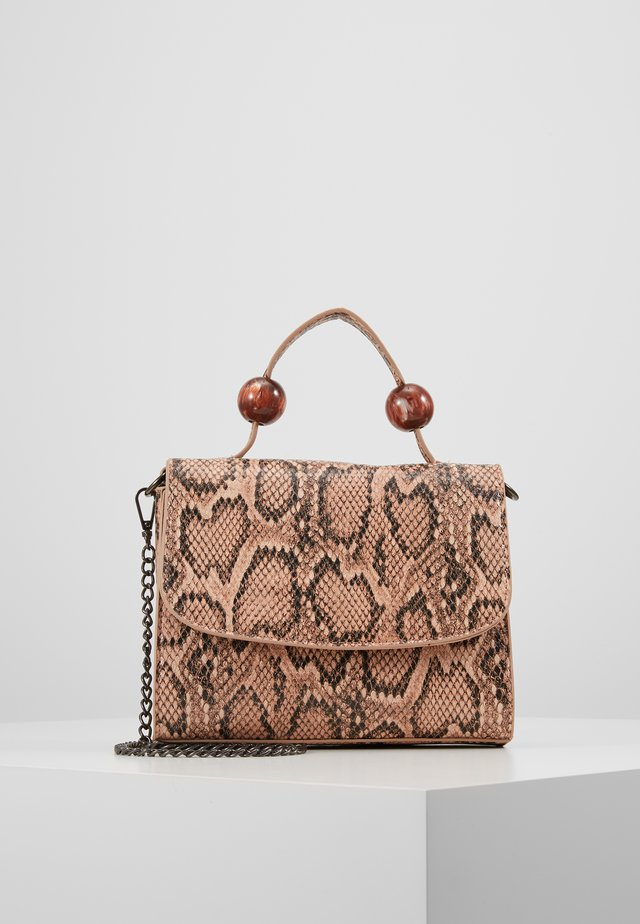 PCBALLER CROSS BODY - Handbag - nature brown