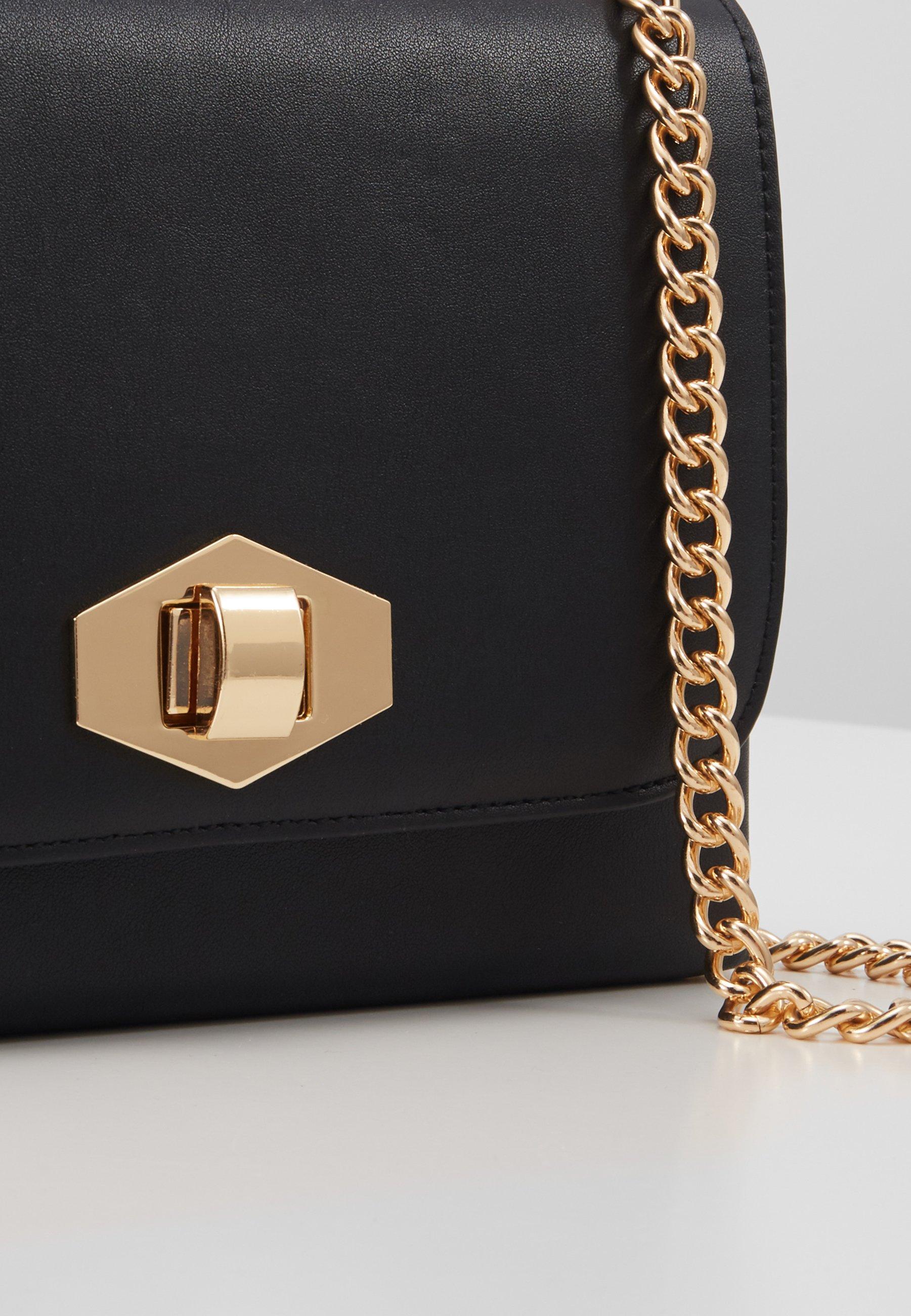 Pieces Pcsolveig Cross Body - Sac Bandoulière Black/gold