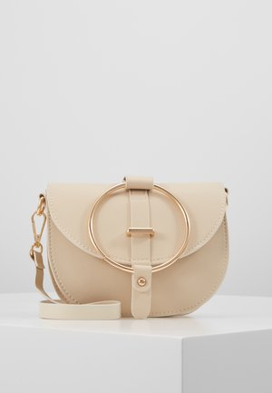 PCWENDY CROSS BODY - Borsa a tracolla - beige/gold