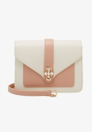 PCLUCY  CROSS BODY - Schoudertas - crystal rose/gold