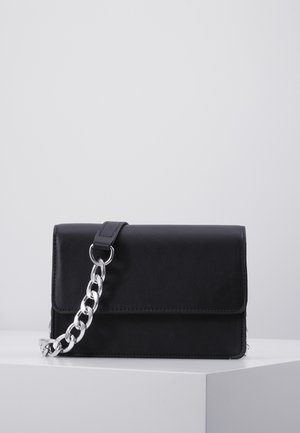 PCSTACY CROSS BODY  - Schoudertas - black/silver