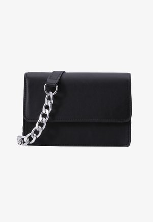 PCSTACY CROSS BODY  - Borsa a tracolla - black/silver