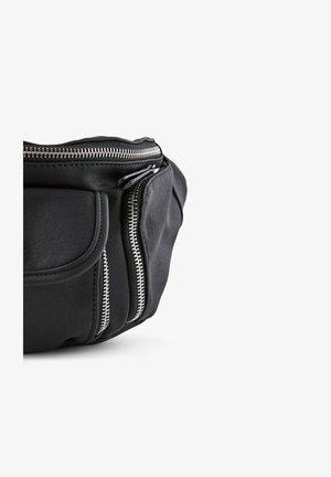 BAUCHTASCHE REISSVERSCHLUSSDETAIL - Bæltetasker - black