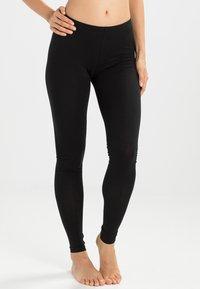 Pieces - EDITA - Leggings - Stockings - black - 0