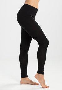 Pieces - EDITA - Leggings - Stockings - black - 1